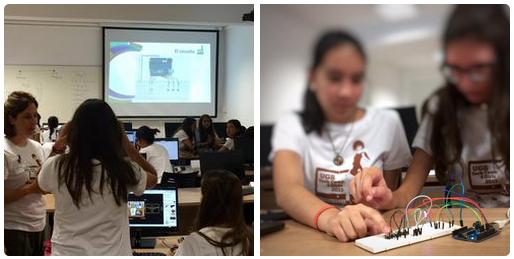 campus tecnológico UGR para chicas